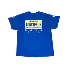 Load image into Gallery viewer, New Jersey Law Enforcement Touch Run 2016 Vintage S/S Promotion Tee