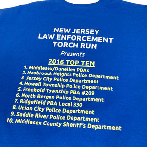 New Jersey Law Enforcement Touch Run 2016 Vintage S/S Promotion Tee