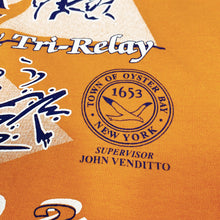 Load image into Gallery viewer, Vytra Health Plans TO BAY Triathlon & Tri-Relay 2002 Vintage S/S Promotion Tee