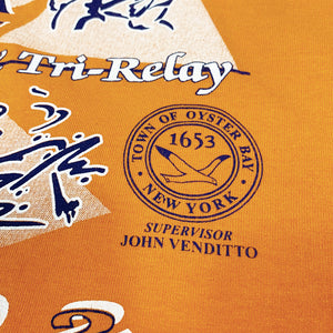 Vytra Health Plans TO BAY Triathlon & Tri-Relay 2002 Vintage S/S Promotion Tee