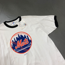 Load image into Gallery viewer, New York Mets 2006 Deadstock S/S Ringer Tee