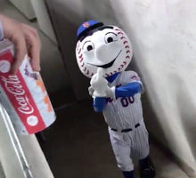 Load image into Gallery viewer, Mr.Met Rubber Keychain