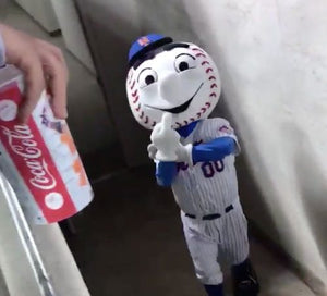 Mr.Met Rubber Keychain