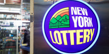 Load image into Gallery viewer, New York Lottery Vintage S/S Promotion Tee