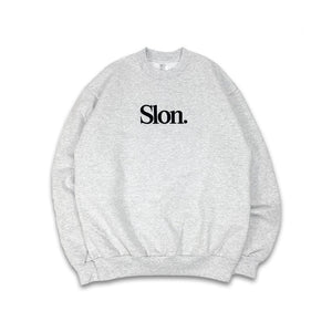"SLON Tech Crewneck Sweatshirt ""Ash"""