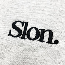 "Load image into Gallery viewer, SLON Tech Crewneck Sweatshirt ""Ash"""