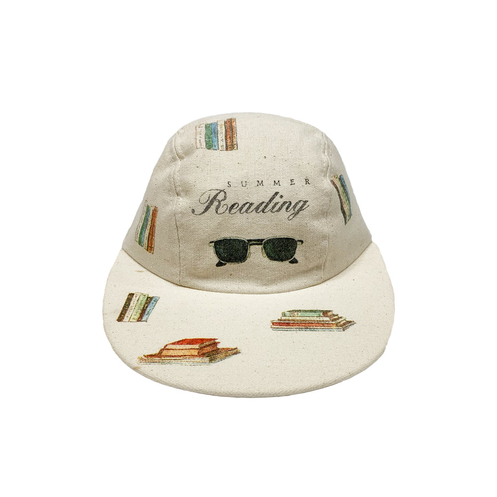 Summer Reading Vintage Long Bill Cap