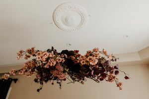 How to Build a Hanging Floral Installation