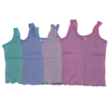 Load image into Gallery viewer, Girls Split Strap Tank Tops - Size 1-3