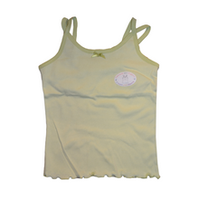 Load image into Gallery viewer, Girls Split Strap Tank Top with Built-In Chest Support - Size 8-12