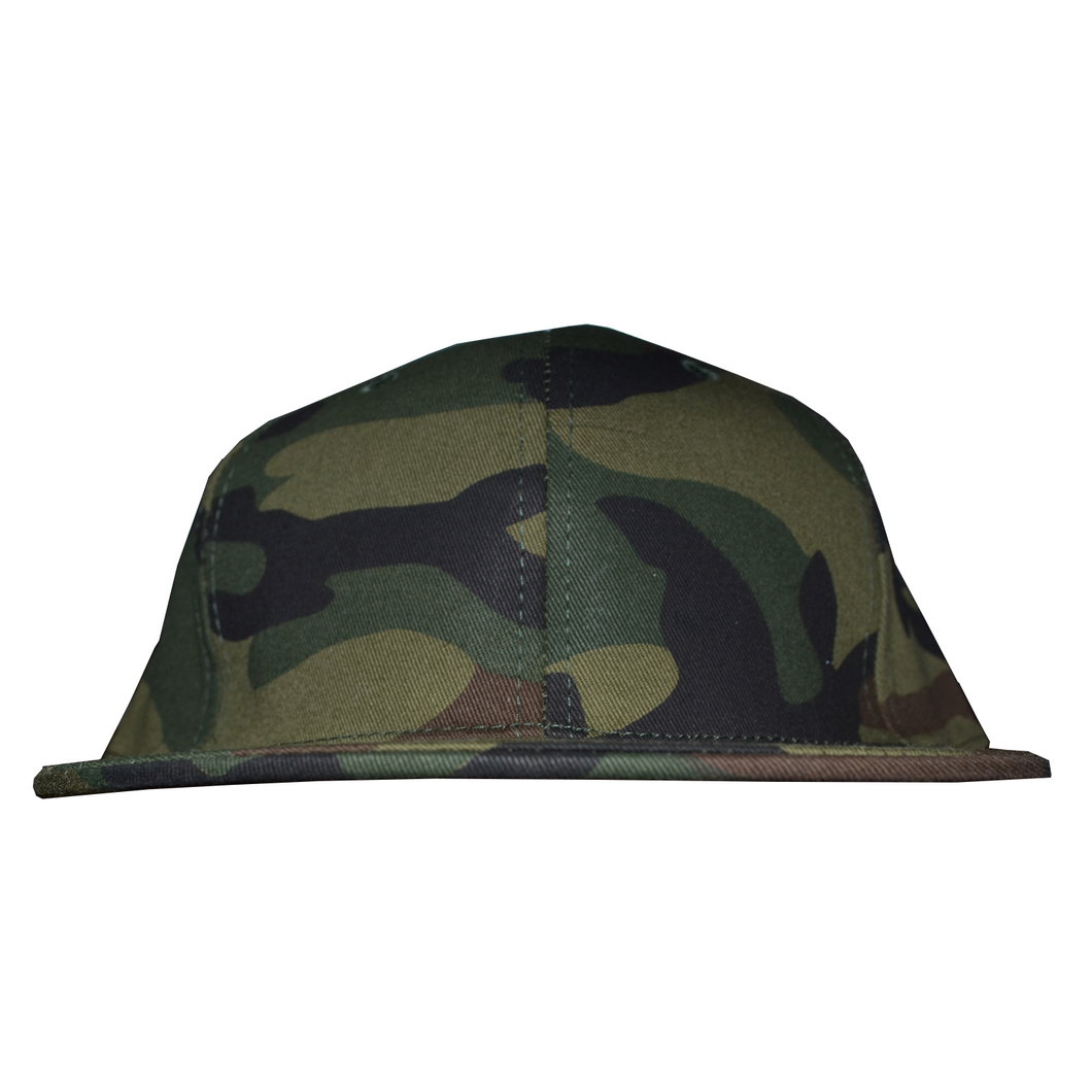 Fitted Plain Caps - Camouflage