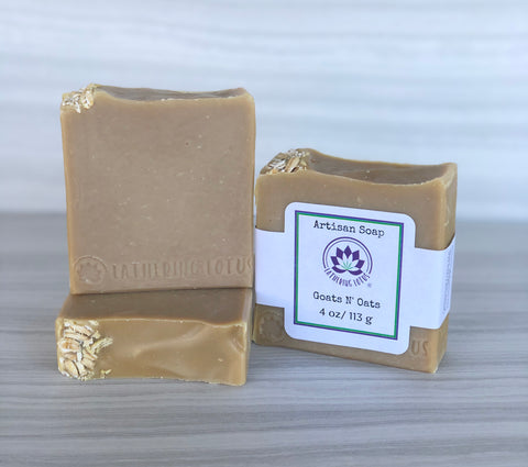 Goats N' Oats Soap