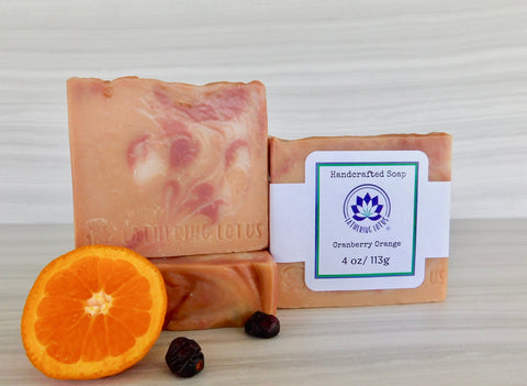 Cranberry Orange Soap