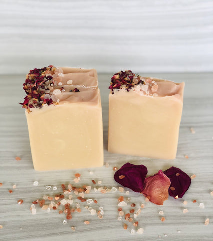 Grapefruit & Rose Soap