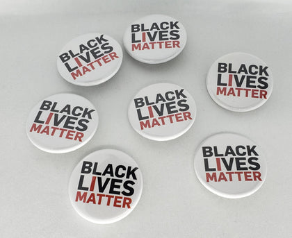 BLM Pin Button