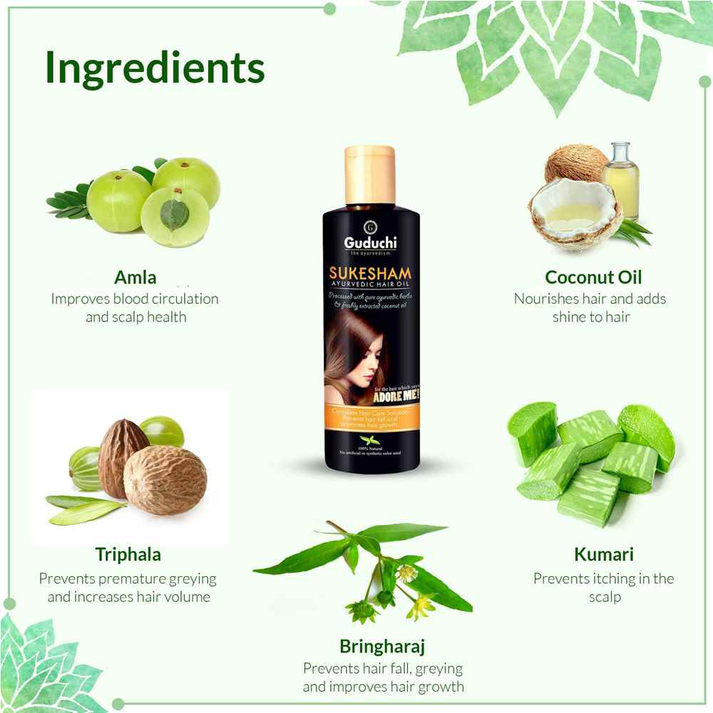 Ingredients-of-sukesham-hair-oil-for-hair-fall-control
