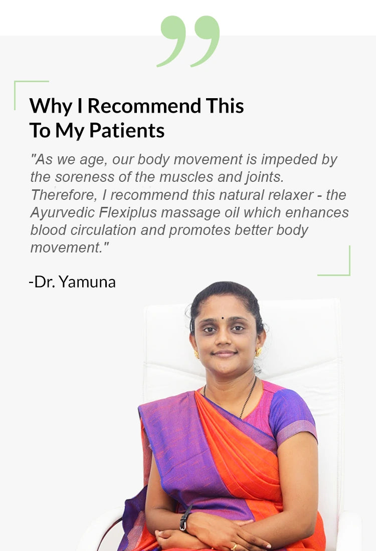 Dr.Yamuna-recommending-Flexiplus-for-pain-relief