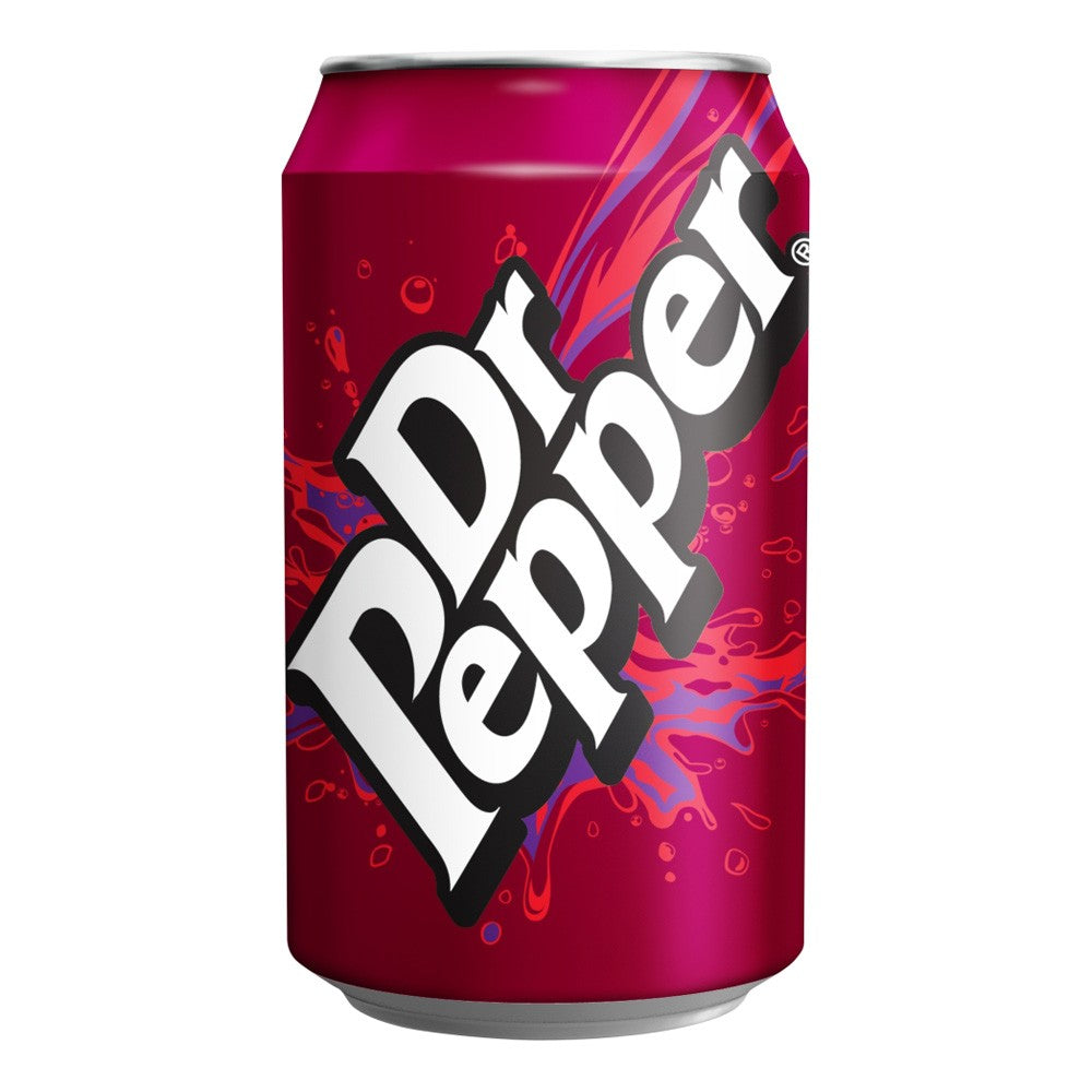 Dr. Pepper Soft Drink Cans – 24 cans x 330ml