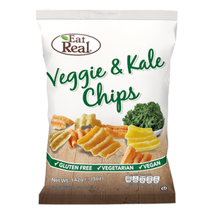 Eat Real Veggie & Kale Chips 80g - Large Bag