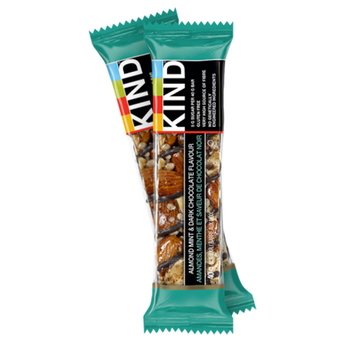 Kind Bars - Dark Chocolate Almond Mint - 40g Bar