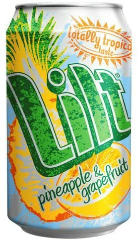 Lilt Pineapple & Grapefruit - Case of 24 Cans