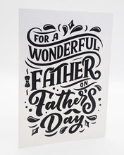 Load image into Gallery viewer, Wonderful Father - Fathers Day Mug, Card & Sweets Bundle