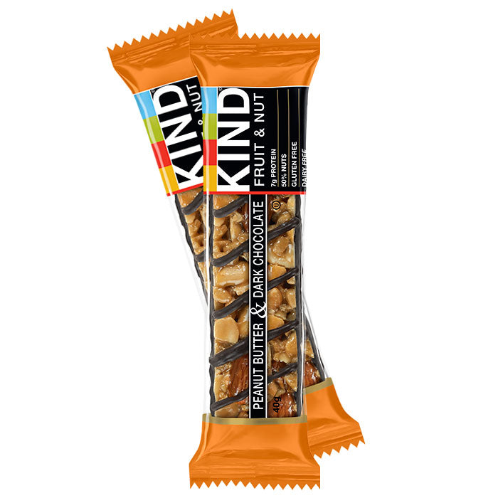 Kind Bars - Peanut Butter & Dark Chocolate - 40g Bar