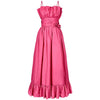 1980s Bubble Gum Pink Ball Gown