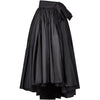 1980s Gina Fratini A-Line Taffeta Evening Skirt