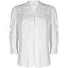 Edwardian Embroidered Whitework Linen Summer Walking Jacket
