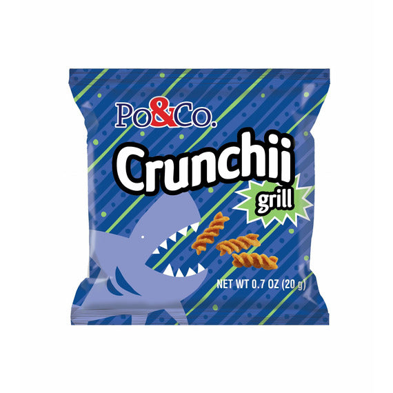 Po & Co. Crunchii Grill | Pack of 12 x 12 bags - Shop Galil