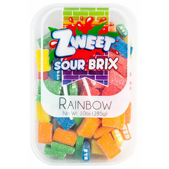 Zweet Sour Brix Rainbow | Pack of 6 - Shop Galil