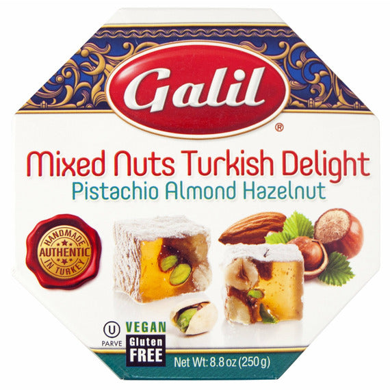 Galil Turkish Delight Oct. Mixed Nuts | Pack of 12 - Shop Galil