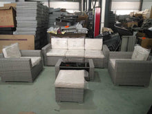 Load image into Gallery viewer, San Remo Grey Sofa and Table Set