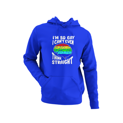 Can't Think Straight Hoodie