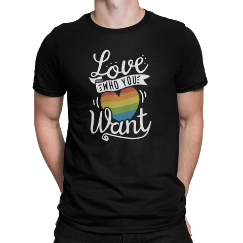 Love Who You Want Tee