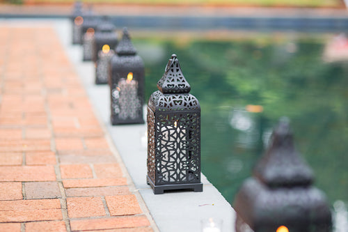 Lanterns in Wedding Decor