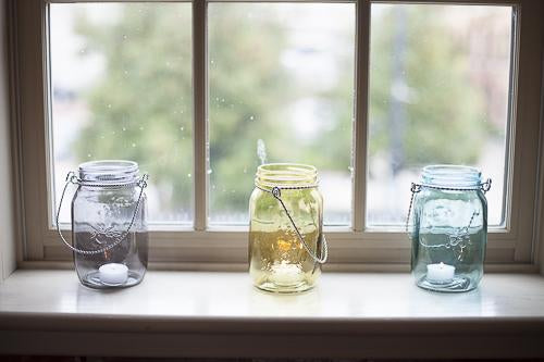 Mason Jars for Weddings & Five Ways To Use Them