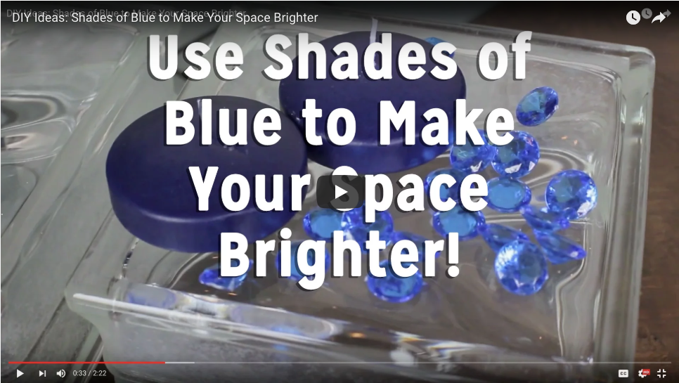 Use Blue Floating Candles to Make Your Space Brighter!