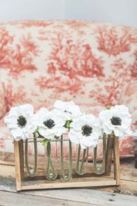 decorating with silk flowers