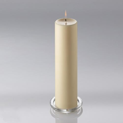 ivory pillar candle 3x12 6008 01