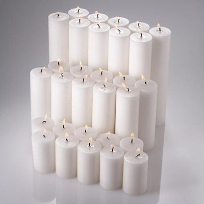 richland pillar candles 2 x3 2 x6 2 x9 set of 30