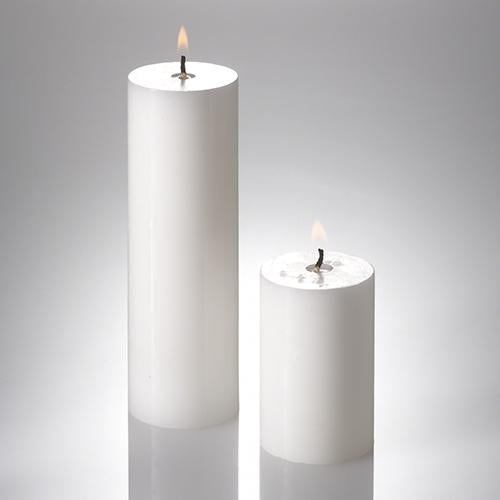 richland pillar candles 2 x 3 2 x 6 set of 20