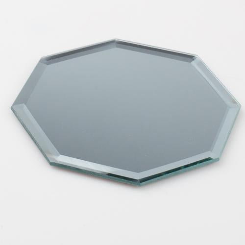 "Eastland Octagon Mirror Coaster 5"" Set of 12"