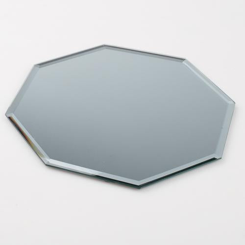 "Eastland Octagon Table Mirror 8"" Set of 10"