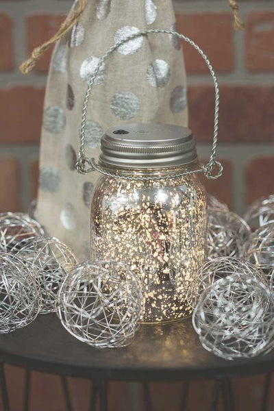 mason jar lights 20ct warm white led fairy lights with lid for regular mouth mason jars