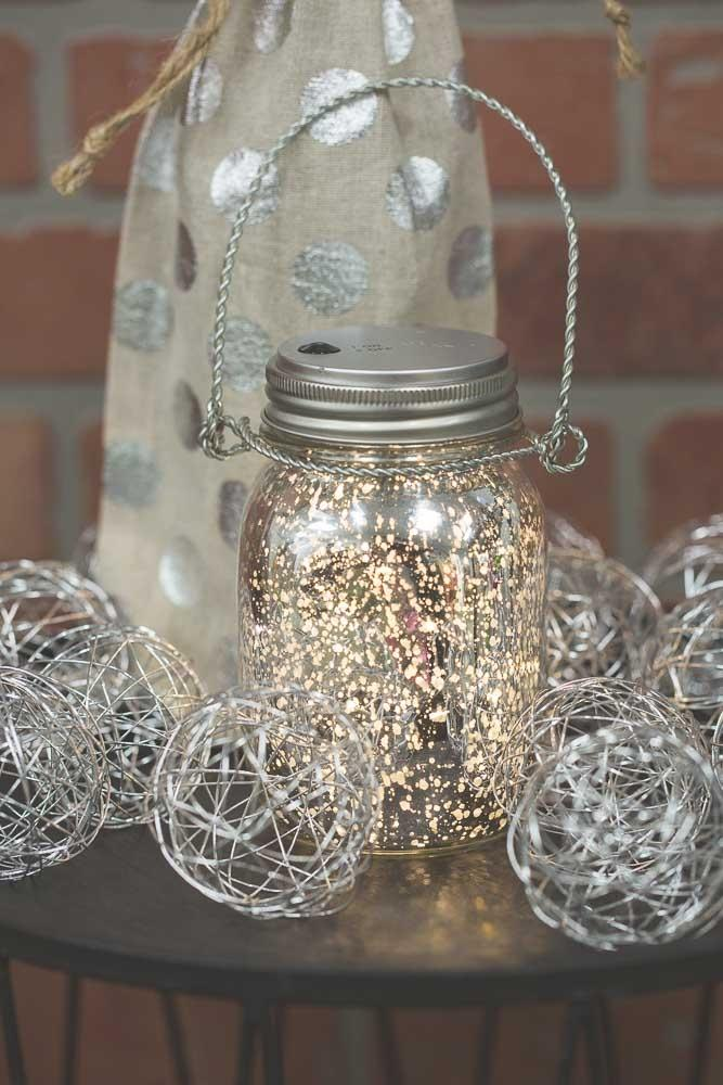 Mason Jar Lights 20CT Warm White LED Fairy Lights with Lid ( for Regular Mouth Mason Jars)