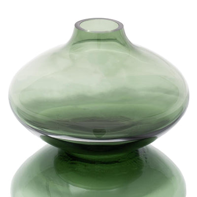 richland juel vase smoky grey