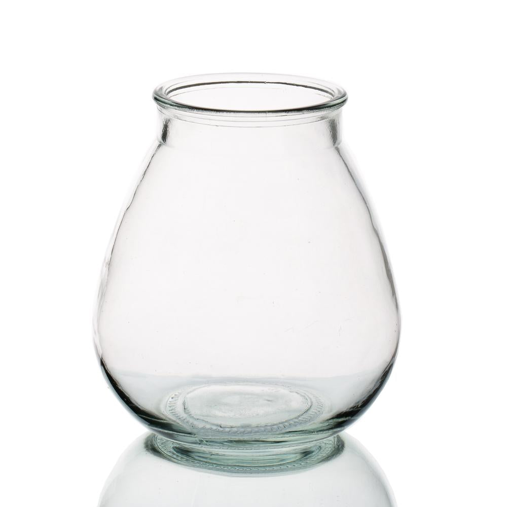 halcyone vintage glass vase small