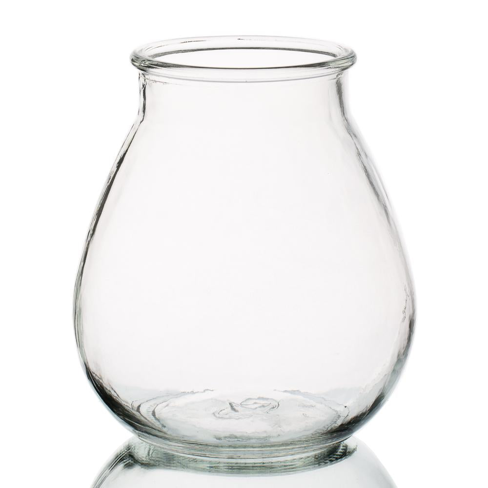 halcyone vintage glass vase large